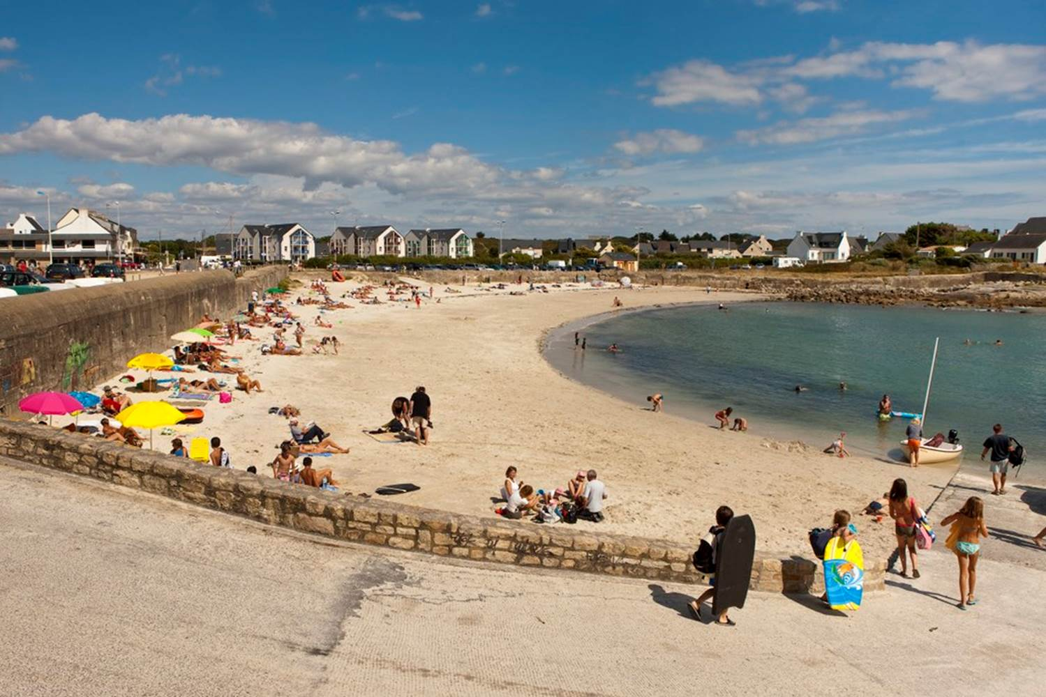 plage-Le-Couregant-Ploemeur-Lorient-Morbihan-Bretagne-Sud © Galivel